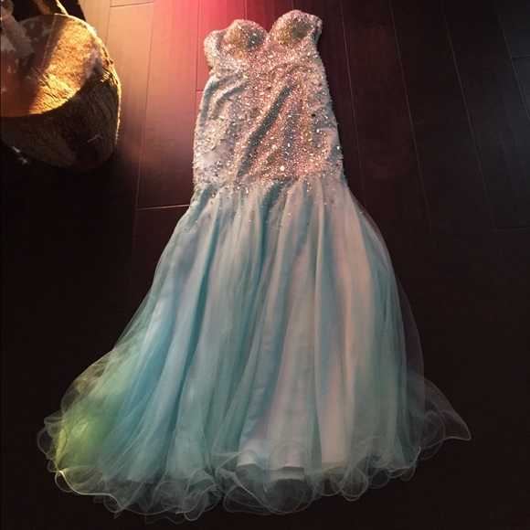 diamond mermaid prom dresses - photo #29