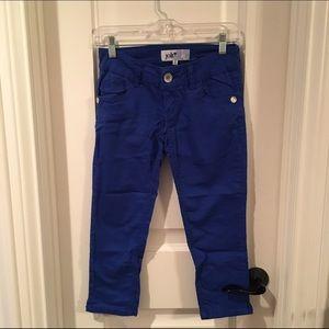 Royal Blue Capri Pants