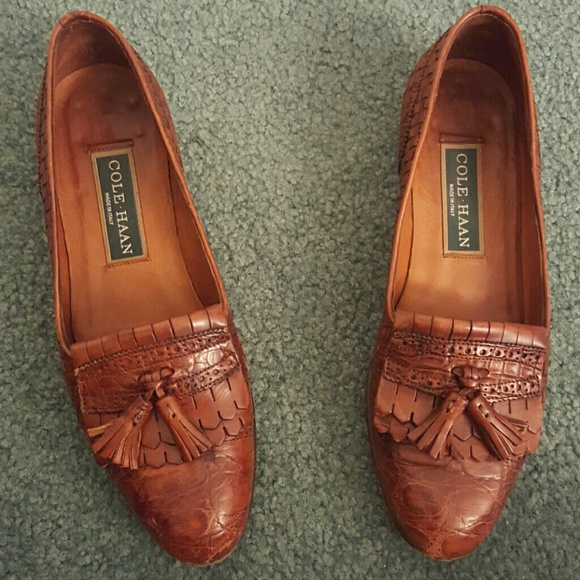 6a1b6b7dee5 Cole Haan Shoes - Vintage Cole Haan Loafers sz. 6.5