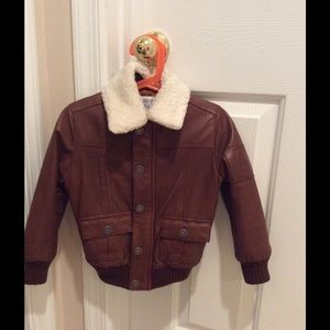 """Armani Junior Other - Baby leather jacket """"Great Deal"""""""