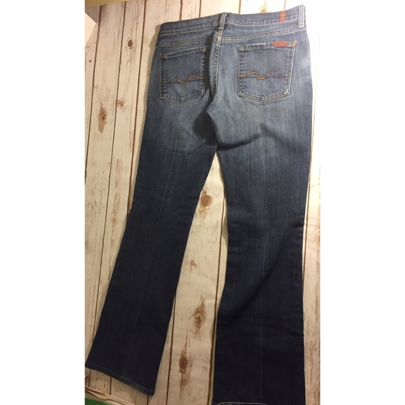7 For All Mankind Jeans - 7 For All Mankind. Boot cut. Inseam 30 inches