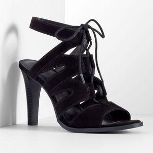Simply Vera Vera Wang Shoes - Simply Vera Vera Wang • Black Sandals