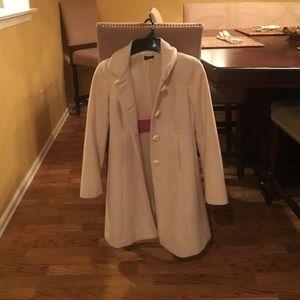 J Crew white/ivory winter jacket