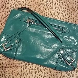 Leather  authentic Michael Kors clutch!