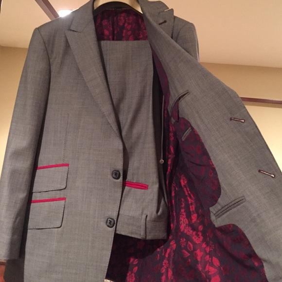 Billionaire Italian Couture Suit 32 Pant42 Jacket