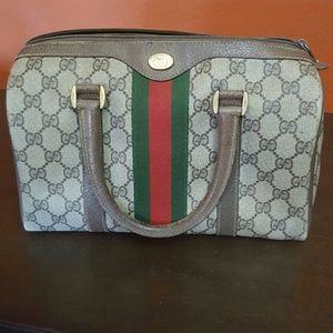 99db2c52e81d Gucci Bags - Vintage Gucci Boston bag
