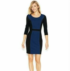 Kensie Dresses & Skirts - Colorblock Sheath Dress