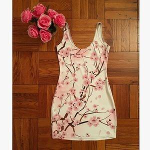 Blackmilk Dresses & Skirts - 🌸2x HP🌸 Blackmilk Cherry Blossom Body Con Dress