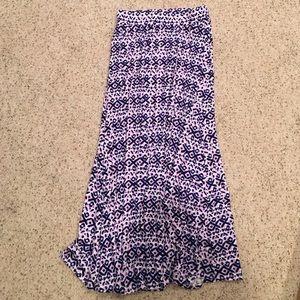 Other - girls tribal maxi skirt