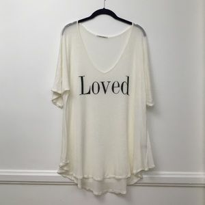 Wildfox swim knit cover up