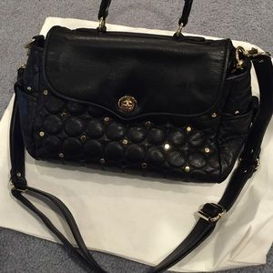 Rebecca Minkoff quilted studded bag with strap