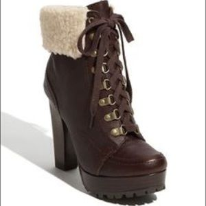 bp Shoes - Lace Up Heeled Boots