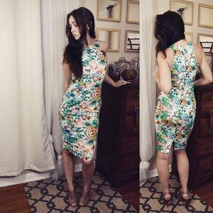 AX Paris Dresses & Skirts - AX Paris Jungle Fever Midi Dress