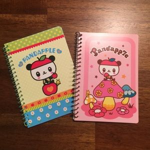Sanrio Hello Kitty PandaApple Note Pad Bundle