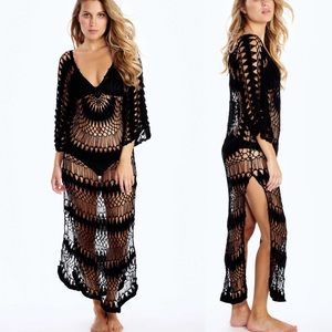Wildfox crochet mermaid dress coverup