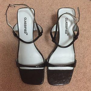 Classified Low Inch Heels, black size 6