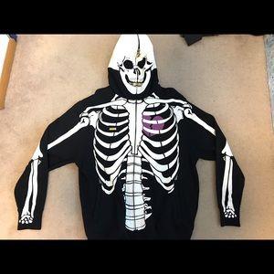 Lrg Sweaters Mens Skeleton Hoodie Size Large Poshmark