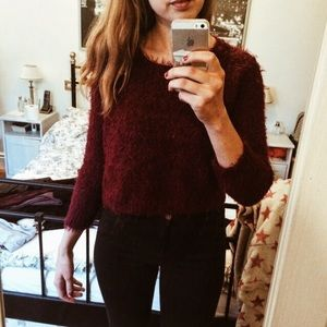 Cropped TopShop Sweater