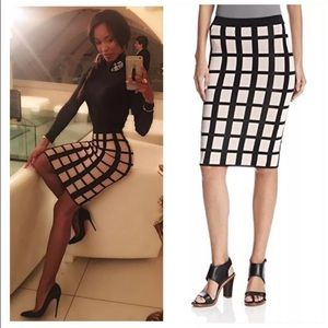 Torn by Ronny Kobo Dresses & Skirts - New Ronny Kobo high waist midi pencil skirt nude