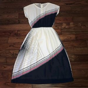 Vintage 70s/80s midi dress