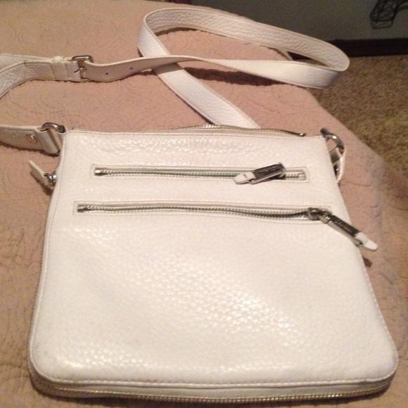 446219b0154 Cole Haan Bags | White Sling Bag | Poshmark