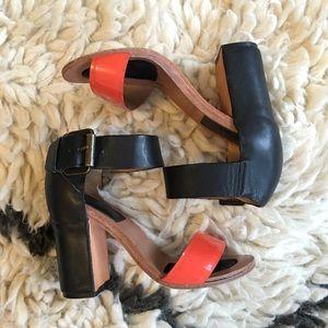 ⚡️SALE⚡️Fiel Ankle Strap Heels - 36 $245
