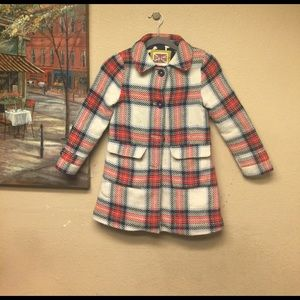 Mini Boden Other - Heritage check coat