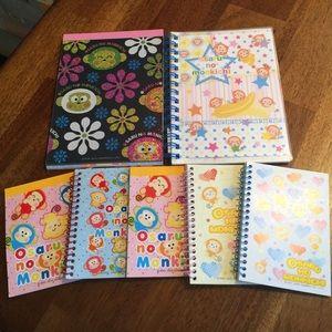 Sanrio Hello Kitty Monkichi Note Pad Bundle