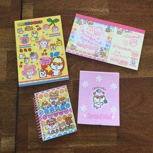 Sanrio Hello Kitty Corocorokuririn Note Pad Bundle