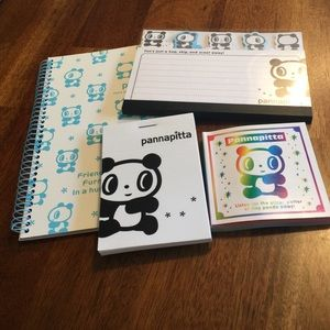 Sanrio Hello Kitty Pannapitta Note Pad Bundle