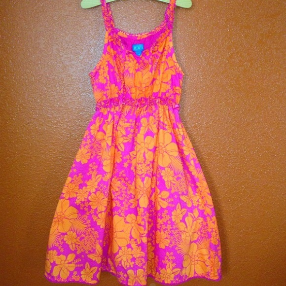 80cc36d7d0 Children s Place Other - The Children s Place Hawaiian Floral Dress 12 NEW