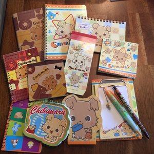 Sanrio Hello Kitty Chibimaru Note Pad Bundle