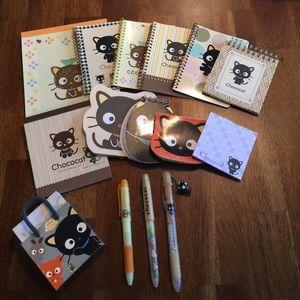 Sanrio Hello Kitty Chococat Note Pad Bundle