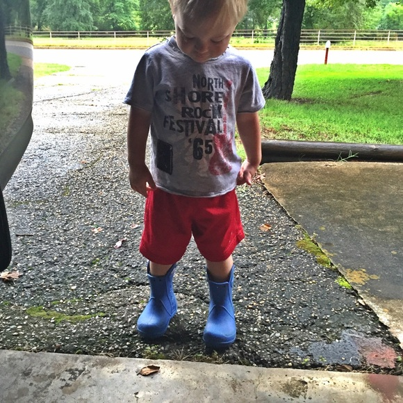 CROCS - Toddler boys Crocs rain boots 6 from Chrissy's closet on ...