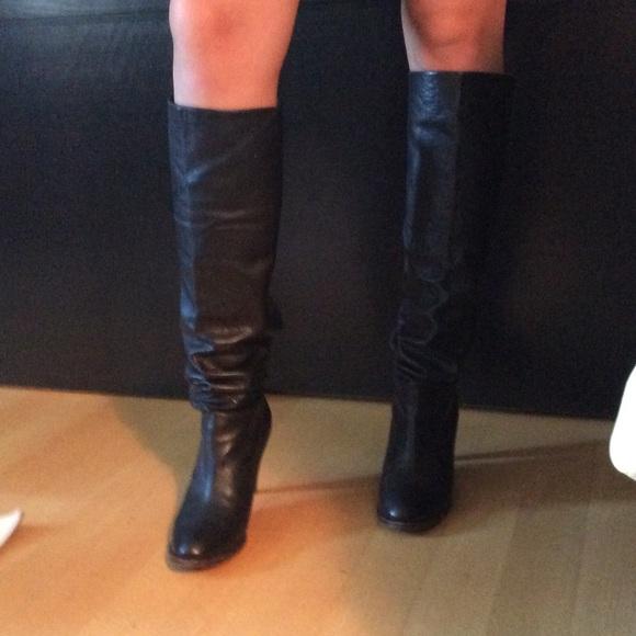 d37fe1810 L'autre Chose Shoes | Leather High Heeled Boots | Poshmark