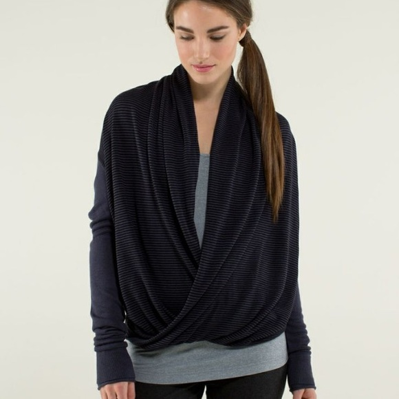61% off lululemon athletica Sweaters - Lululemon Iconic wrap ...