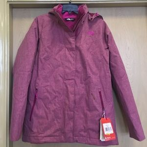8966fbed6 Women's The North Face Kalispell triclimate jacket NWT