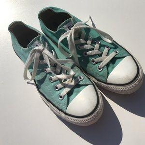 Converse Shoes - Converse Mint Green Mens 6 Womens 8