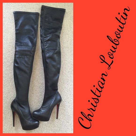 purchase cheap 36ed6 ce3de CHRISTIAN LOUBOUTIN Gazolina Boots