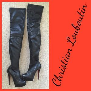 replica slippers - Christian Louboutin Shoes | Over the Knee Boots - on Poshmark