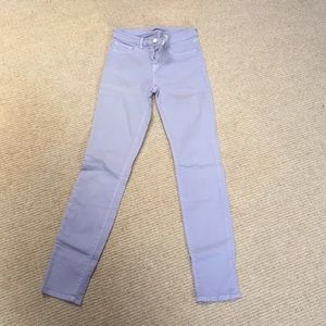 J Brand purple skinny jeans!