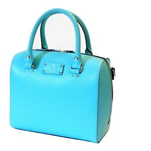 Kate Spade Tiffany Blue Wellesley Alessa Satchel