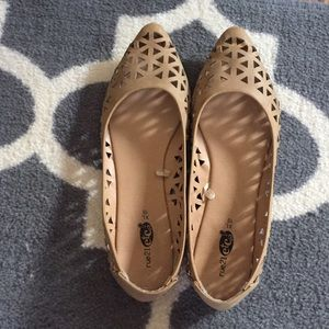 Beautiful eyelet shoes