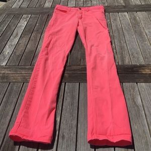 Neon Hot Pink Skinny Jeans H&M 12-13