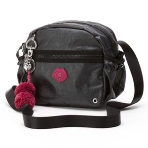 Juicy Couture Handbags - JUICY COUTURE CROSSBODY BAG W/KEY FOB & CHARMS