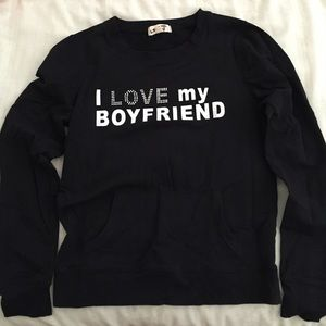 Women's I Love My Boyfriend Sweaters on Poshmark
