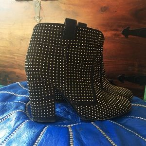 Laurence Dacade Pete Studded Ankle Boot, 37.5