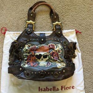 Isabella Fiore Handbags - Isabella Fiore Skull & Crossbones Purse