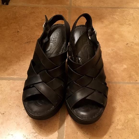 d2287c9de88 Born Shoes - Born black wedges