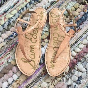 Sam Edelman Shoes - Sam Edelman • Peach Melba Sandals